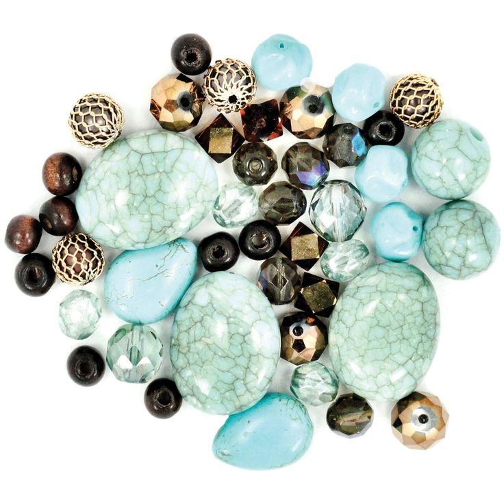 Jesse James Design Elements Beads 28g-Desert Springs - desert springs