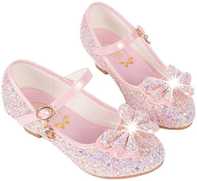 Toddler//Little Girl PRETTYHOMEL Girls Kids Mary Jane Casual Slip On Ballerina Flat