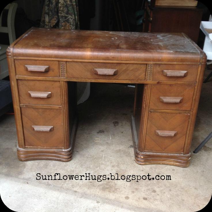 SunflowerHugs: Nautical Desk & Waxing Tip