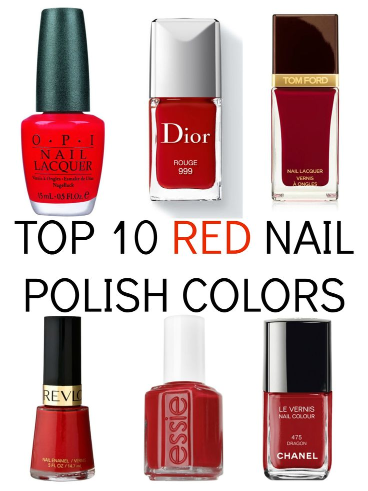 Best 25+ Red nail polish ideas on Pinterest   Fall nail ...