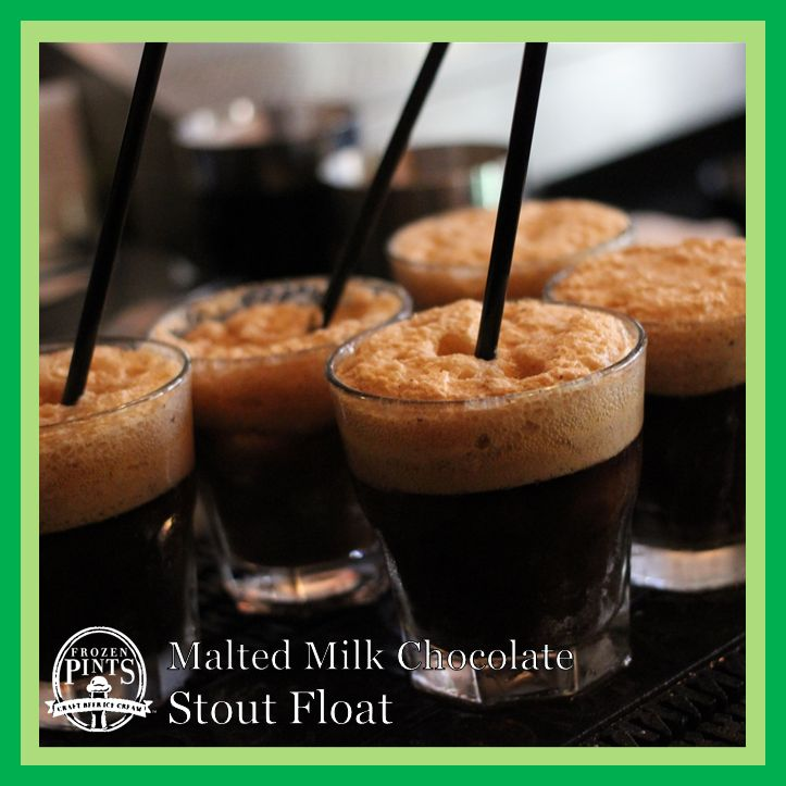 Malted Milk Chocolate Stout Float | Recipes | Pinterest