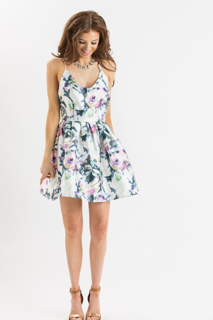 Floral Dresses Summer Wedding Dresses Wedding Guest