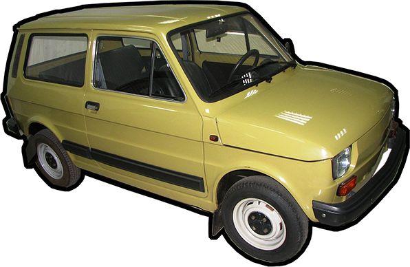 Tajemnicze polskie samochody XX wieku 1977 Polski Fiat 126 kombi