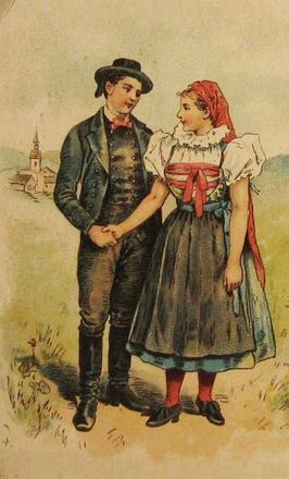Selský pár zJihlavska /Bauernpaar aus Igelland