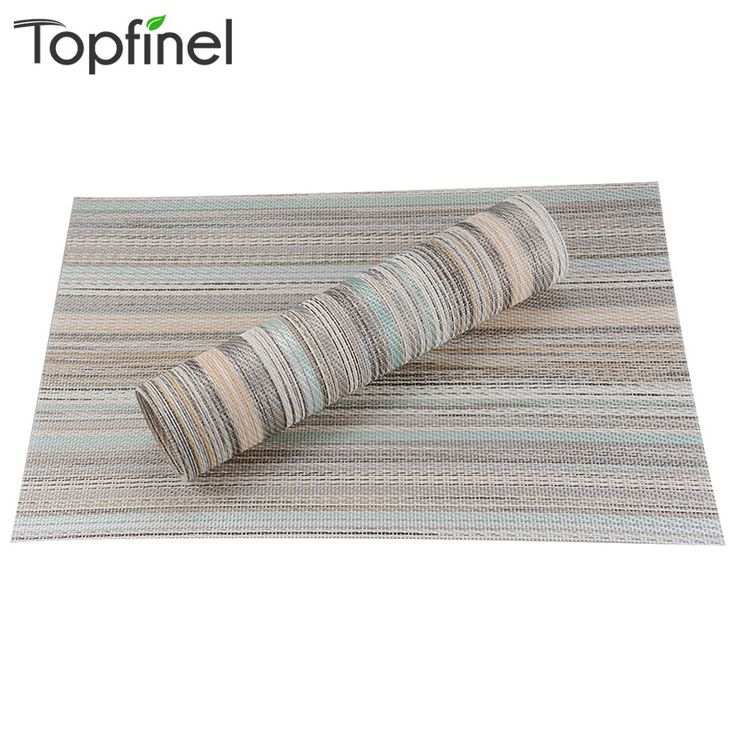 8 шт./лот пвх полоса обеденный стол бамбук салфетки для стола коврик manteles individuales салфетки кубок матс горки стол кусок ткани