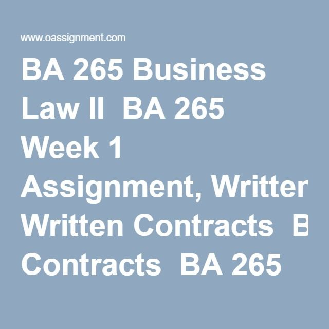 Best Images About Ba  Business Law Ii Assignment On
