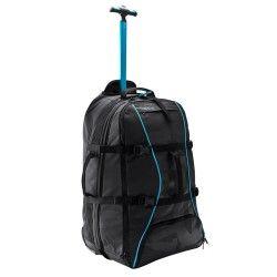 Maleta con ruedas / mochila Sport 60 L negro / azul