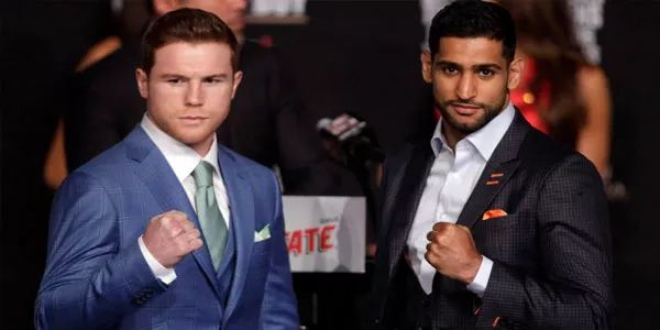 #Amir says #Canelo-Khan may be their last U.S. fight if #Trump becomes president
