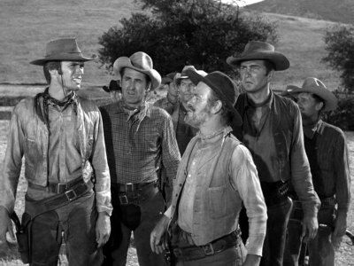 Rawhide is an American Western series starring Eric Fleming and Clint Eastwood that aired from January 9, 1959 to September 3, 1965, also starring Paul Brinegar  Sheb Wooley  John Ireland  Raymond St. Jacques