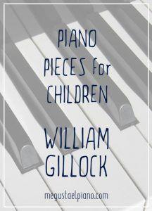 Piano pieces for children: William Gillock