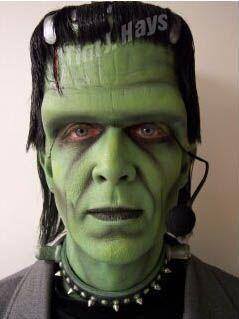 DIY Frankenstein Halloween Costume Idea