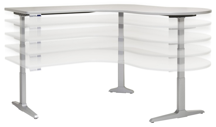 Sierra HX Electric - Height Adjustable Workcenters, Keyboard Platforms, Flat Panel Display Arms. Workrite Ergonomics