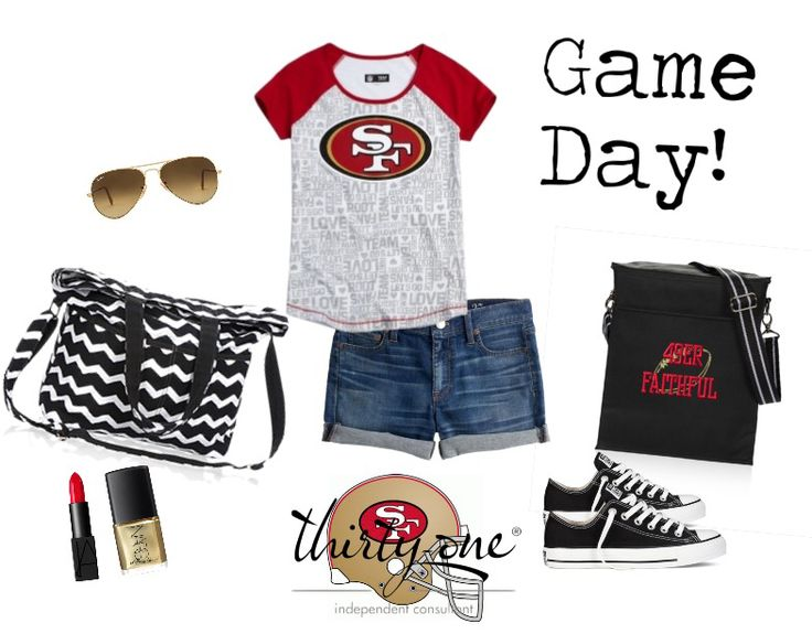 Showing my 49er Pride with my Retro Metro Fold over & My Picnic Thermal. https://www.mythirtyone.com/robynlipe