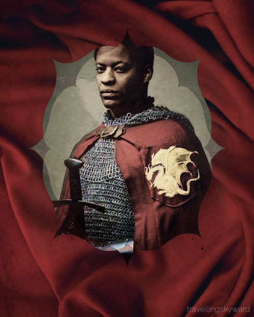 Sir Elyan, a true knight of Camelot. Yes, there were Moorish knights of Camelot...if you don't know - study!