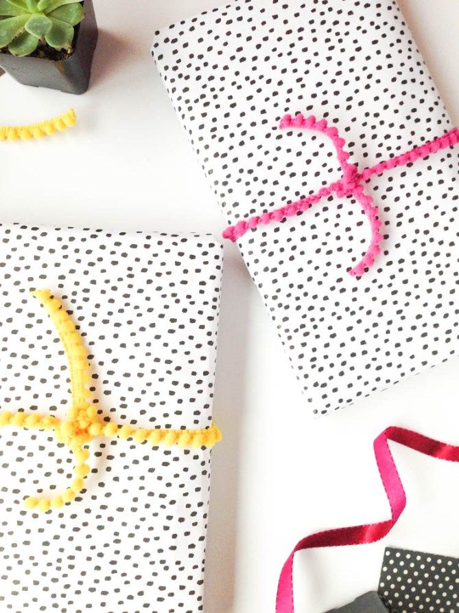 Wrap It Wednesday: Speckled Dots