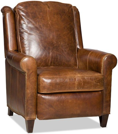 Bradington Young Chairs That Recline Aubree Recliner 3-Way Lounger with Rolled Sock Arms