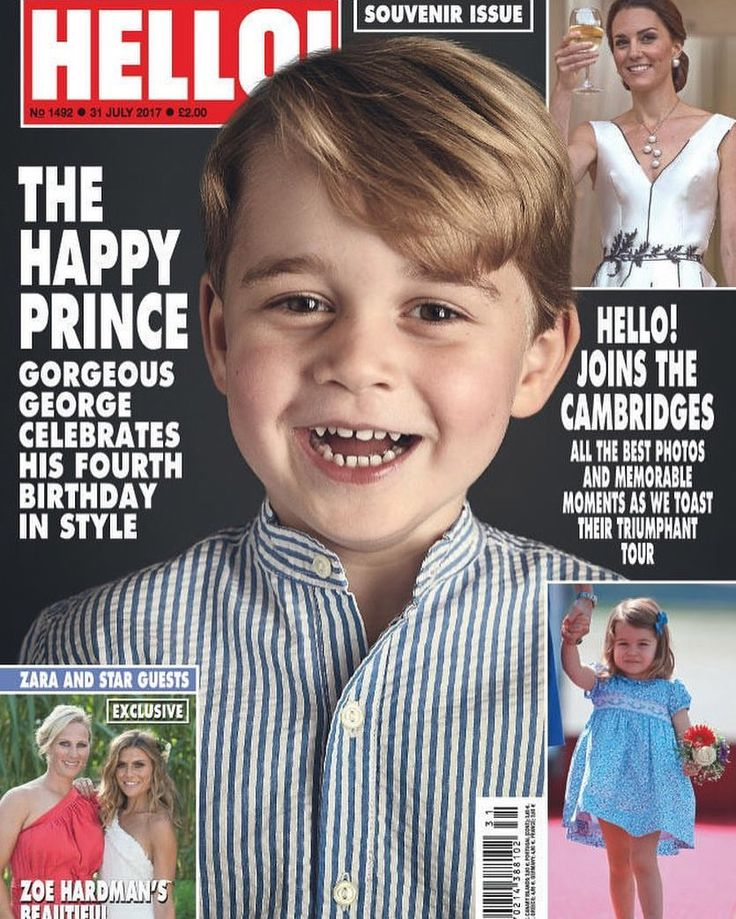This week's issue of HELLO! features all the best photos & memorable moments as we toast the Cambridge's triumphant tour plus we celebrate Prince George's fourth birthday! How adorable does he look?! ❤️ via ✨ @padgram ✨(http://dl.padgram.com)