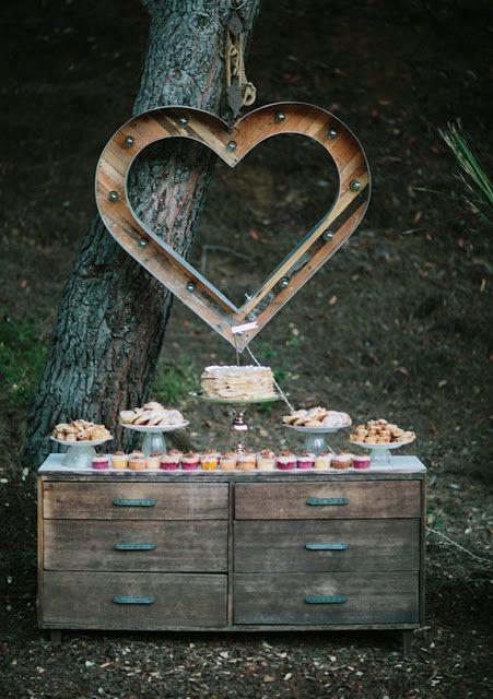 les buffets de mariage wedding buffet mariage id es. Black Bedroom Furniture Sets. Home Design Ideas