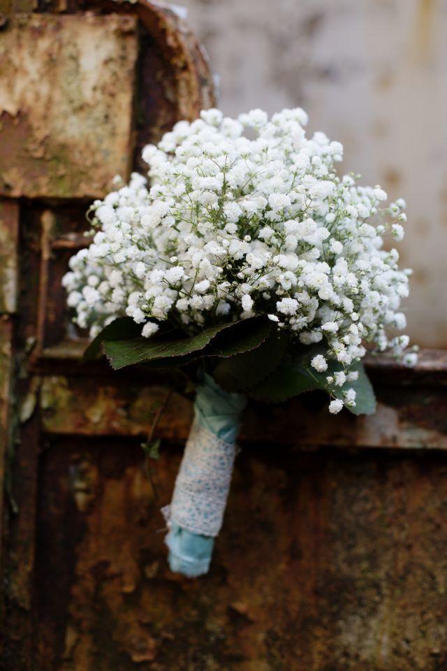 Brautstrauss Vintage, Brautstrauss Schleierkraut, Bridal Bouquet, Something Blue