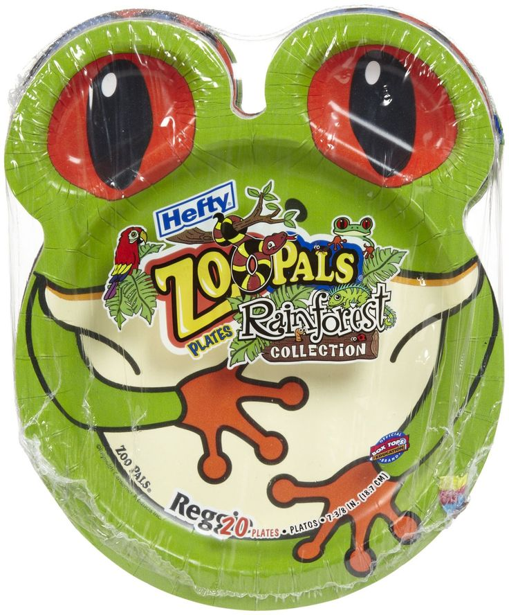 Hefty Zoo Pals Rainforest Collection