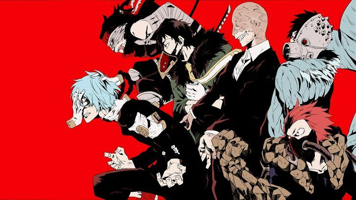 My Hero Academia Villains Tomura Overhaul All For One Stain Wallpaper Boku No Hero Academia My Hero My Hero Academia