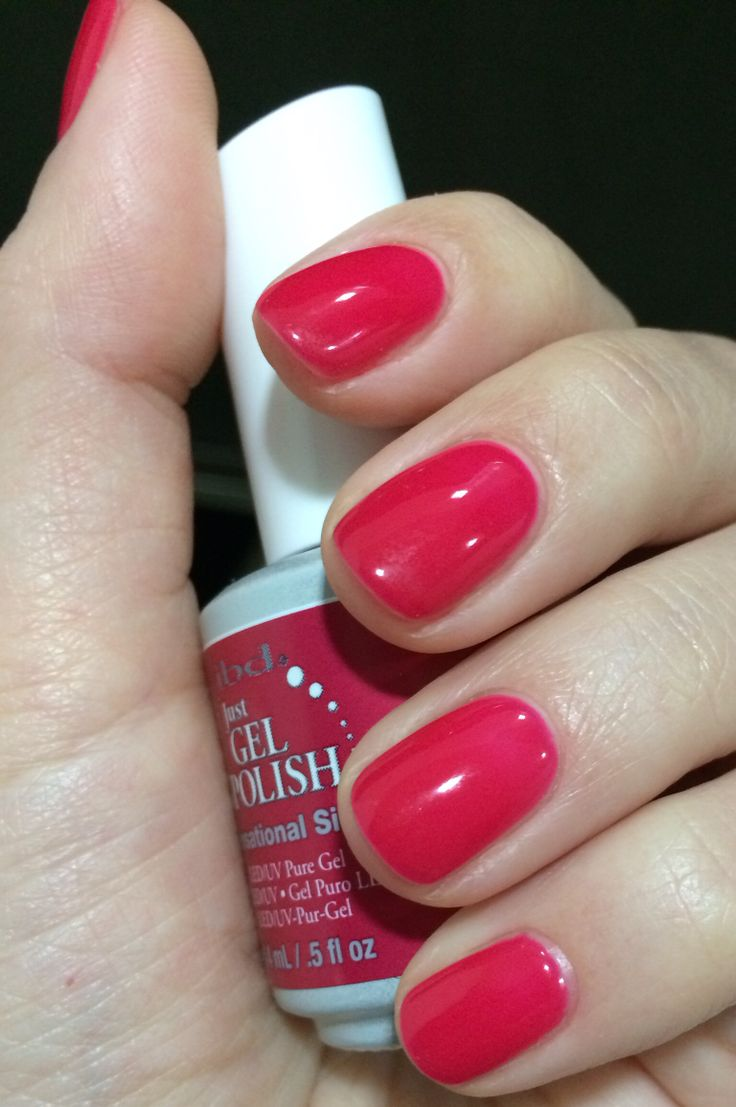 Home ibd just gel polish ibd just gel polish abracadabra - Sensetional Siren A Beautiful Raspberry Color Just Gel Polish Ibd
