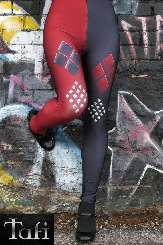 Harley Quinn Leggings Costume