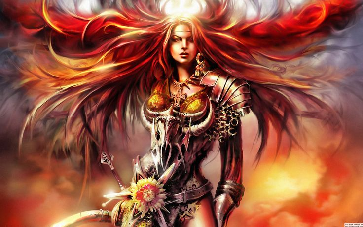 Download Warrior Girl Fantasy Wallpaper 1920×1200 Full HD Wallpapers pictures in hight quality