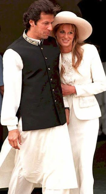 9 Beautiful Pictures of Imran Khan and Jemima Khan   50 T 20 Cricket