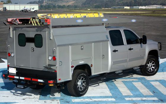 Custom Utility Body- Utility body for RV truck
