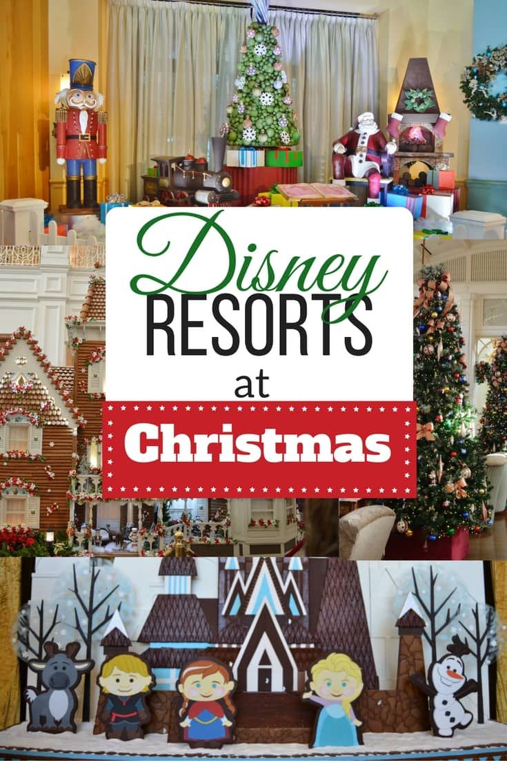 Disney christmas decorations for home - Check Out These Disney Resorts At Christmas