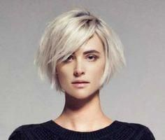 Chic Bob Ideas with Side Swept Bangs | Bob Hairstyles 2017 - Short Hairstyles for Women #bobhaircutswithbangs