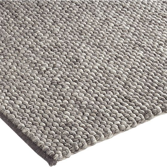 Ivan Natural Rug | Crate and Barrel 9x12 $1439 retail sale.  Do you like this?  I have the sample and it's terrific.  100% wool.