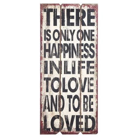 Love and Be Loved Wall Decor