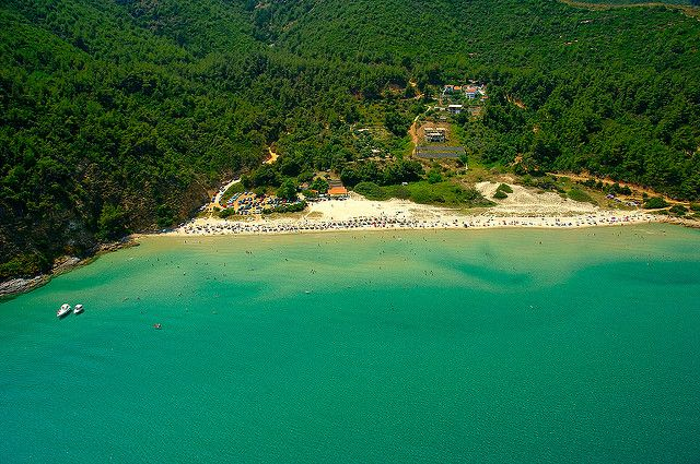 Thassos - Paradise beach | One of the many sandy beaches of … | Flickr
