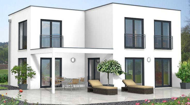 Stilvoll und modern – genauso präsentiert sich das Haus Modern 3 von innen sowie von außen. Ein flaches Dach, eine helle Fassade, bodentiefe Fenster – es sind alles Elemente, die Ihrem zukünftigen Haus ein zeitlos elegantes Design verleihen.   Ein...