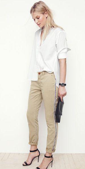 841854645ecd Style Guides, Tan Chinos, Slim Chinos, Toni Garrn, Boho, J Crew