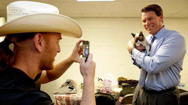 Heath Slater, JBL and Grumpy Cat