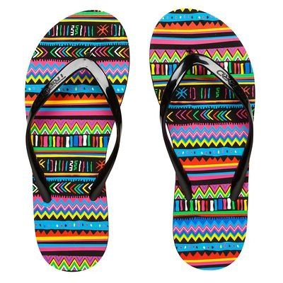Tongs Chaussures - Tong 100 PRINT F Jbay Femme TRIBORD - Par type