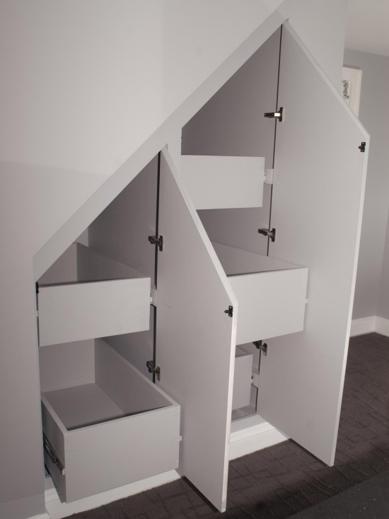 Small Bathroom Design Under Stairs 89 best stairs images on pinterest | stairs, architecture and home