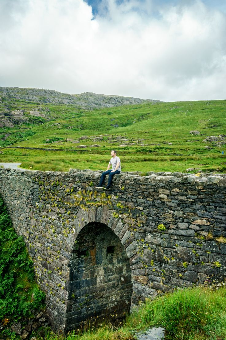 Healy Pass. Adrigole. Ireland.