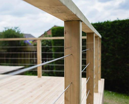 Diy wire balustrade nz