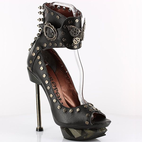 10 of Hades' Steampunk Shoes You Need in Your Life