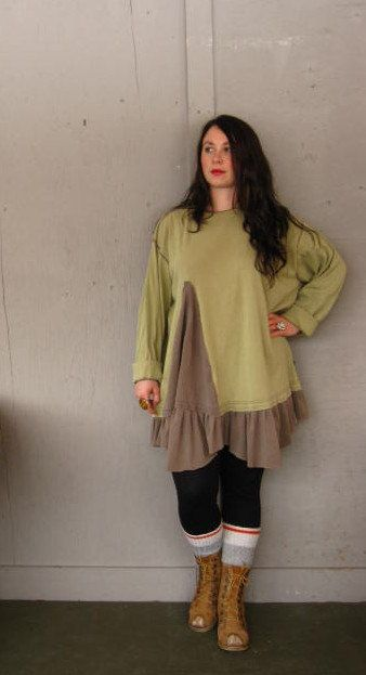 Romantic Lagenlook Tunic