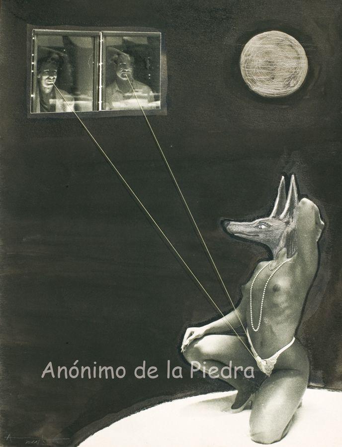 Galguería : La Dama Galga. Author : Anónimo de la Piedra