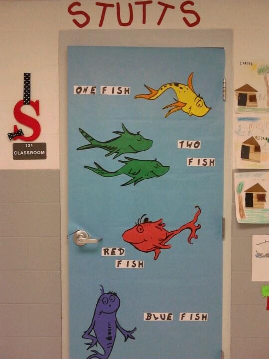 Dr. Seuss classroom door :)