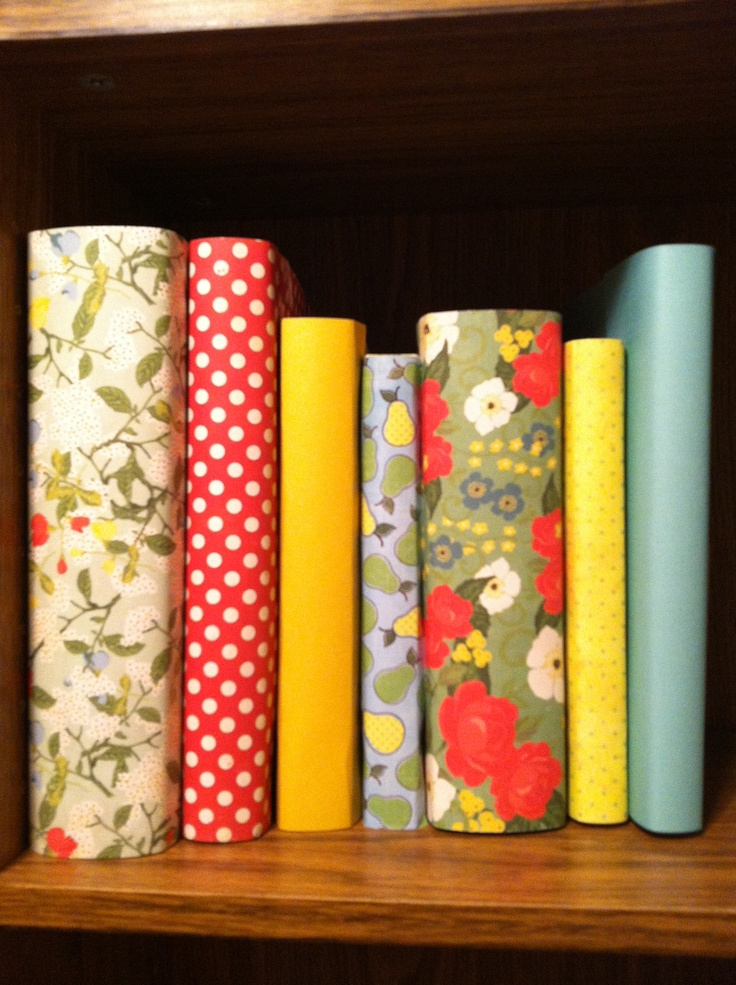 Book Cover Scrapbook Paper : Scrapbook paper book covers crafty pinterest