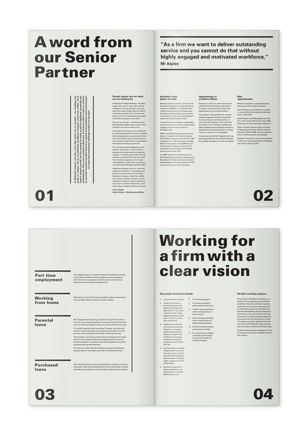 Newsletter by Claire Blanch, via Behance