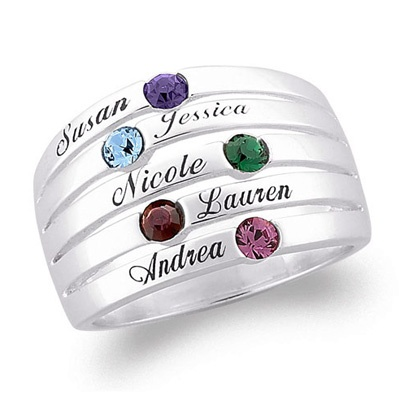 1000 Images About Family Ring Mother Ring Ideas On Pinterest