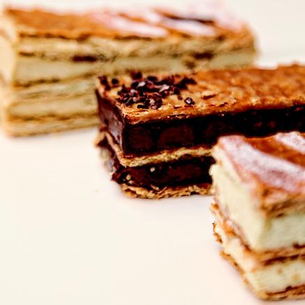 Millefeuille vanilla & chocolate